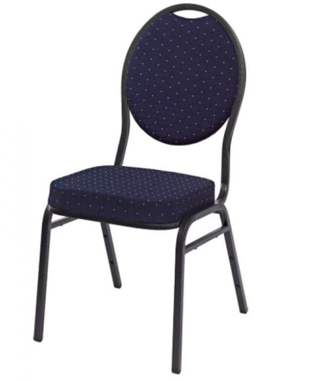 Kvalitní židle kovová Monza - modrá