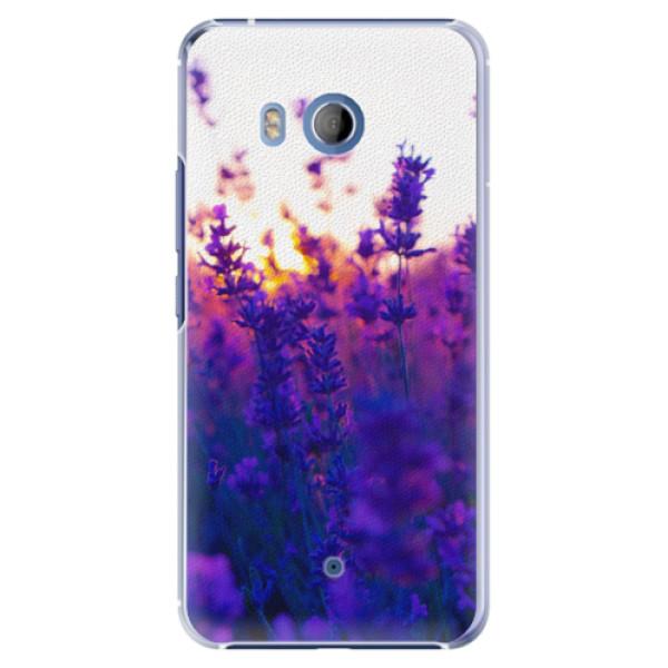 Plastové pouzdro iSaprio - Lavender Field - HTC U11