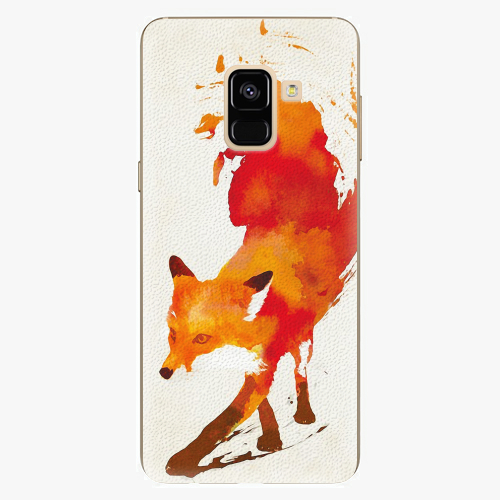 Plastový kryt iSaprio - Fast Fox - Samsung Galaxy A8 2018