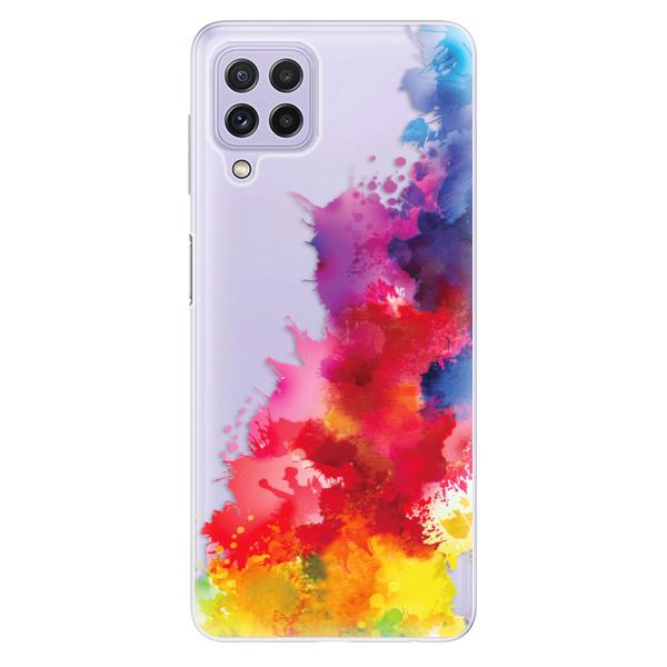 Odolné silikonové pouzdro iSaprio - Color Splash 01 - Samsung Galaxy A22