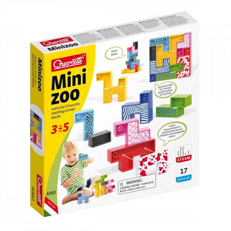 Quercetti MiniZoo 17 ks 4060