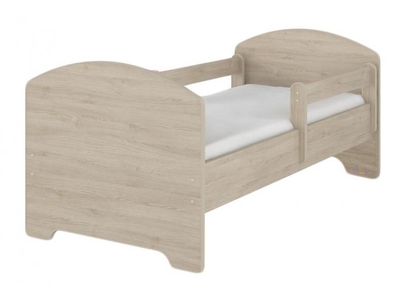 nellys-detska-postel-sabi-v-barve-svetly-dub-matrace-zdarma-160x80-d19-160x80