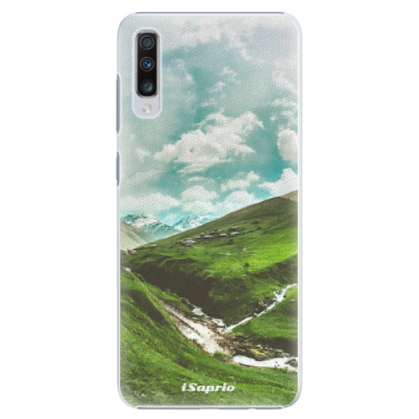 Plastové pouzdro iSaprio - Green Valley - Samsung Galaxy A70