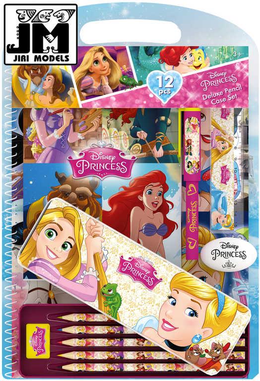 JIRI MODELS Sada psacích potřeb Disney Princess v plechovém pouzdře
