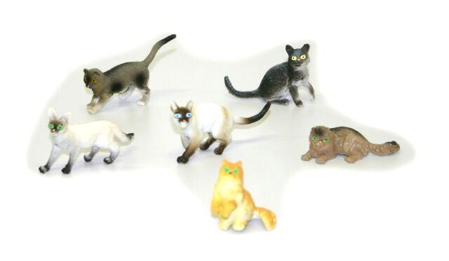 Kočky 6 ks v sáčku