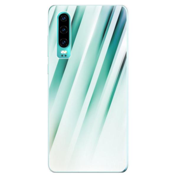 Odolné silikonové pouzdro iSaprio - Stripes of Glass - Huawei P30