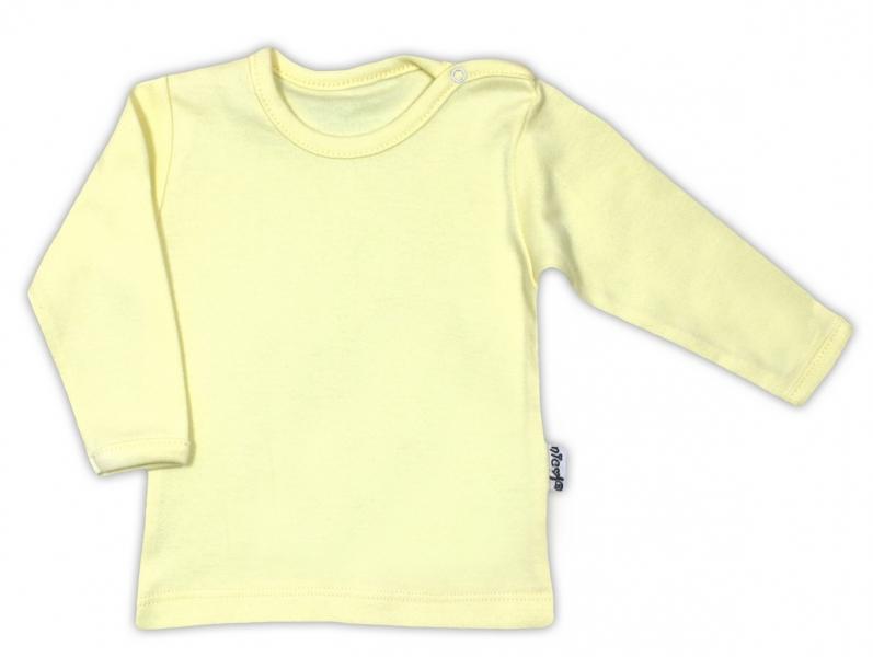Bavlněná košilka - žlutá, vel.