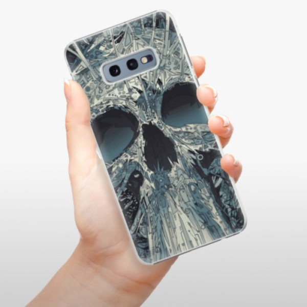 Plastové pouzdro iSaprio - Abstract Skull - Samsung Galaxy S10e
