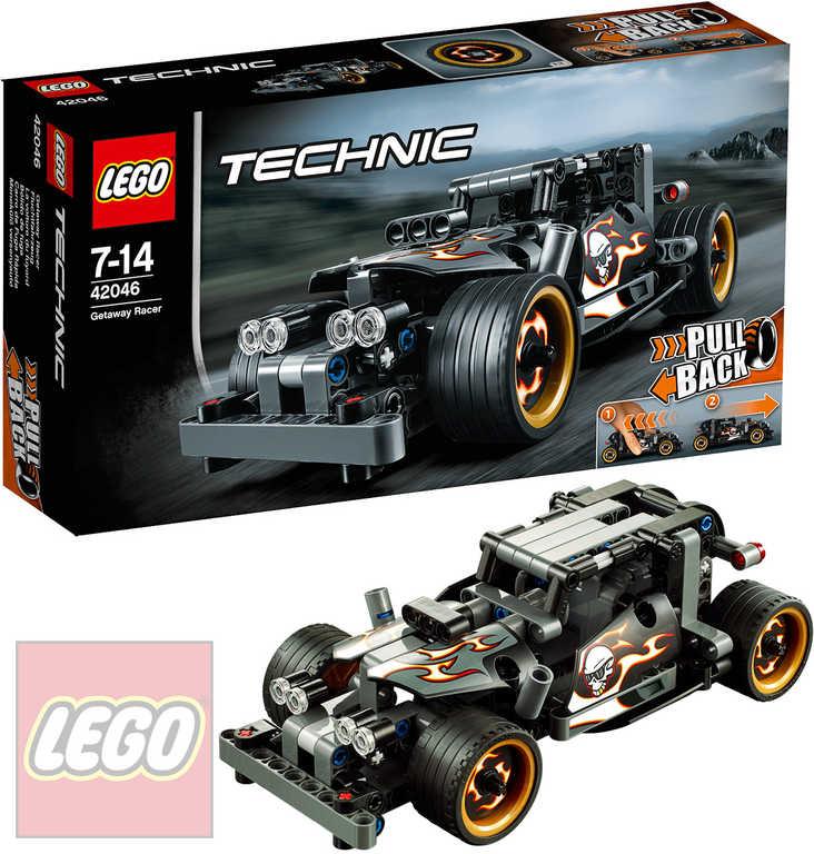LEGO TECHNIC Únikové závodní auto 42046 STAVEBNICE