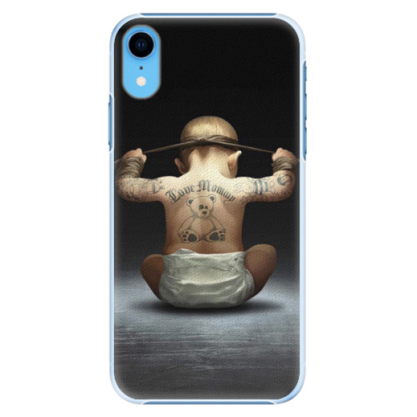 Plastové pouzdro iSaprio - Crazy Baby - iPhone XR