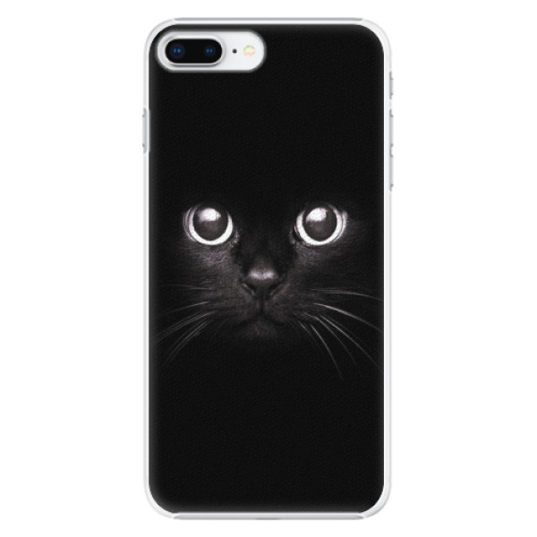 Plastové pouzdro iSaprio - Black Cat - iPhone 8 Plus
