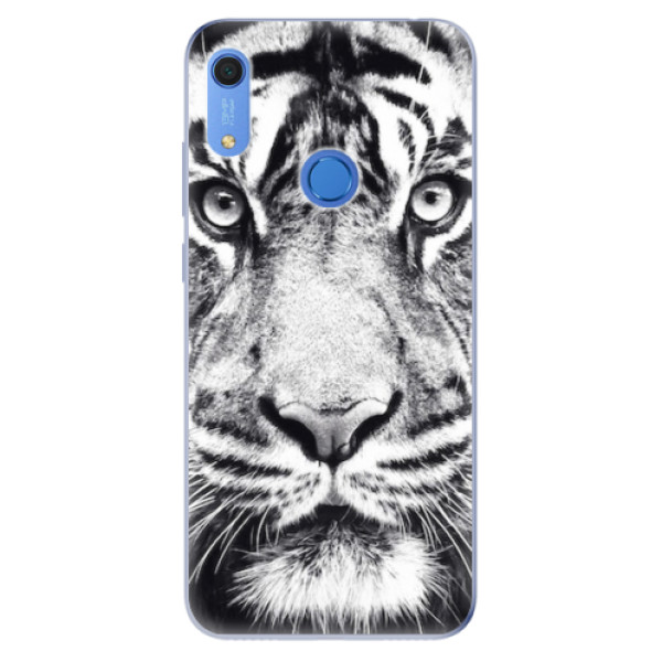 Odolné silikonové pouzdro iSaprio - Tiger Face - Huawei Y6s