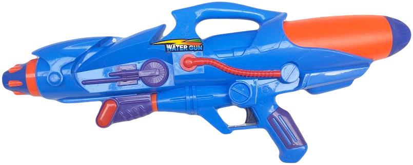 Pistole vodní stříkací dělo 51cm se zásobníkem na vodu modrá
