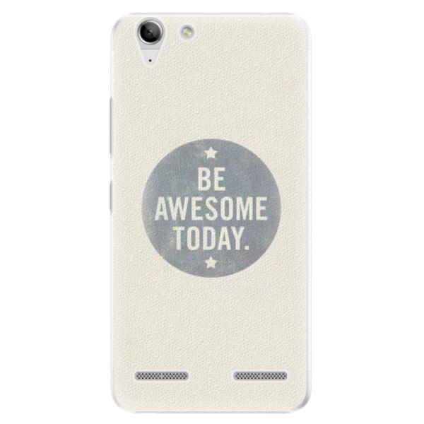 Plastové pouzdro iSaprio - Awesome 02 - Lenovo Vibe K5