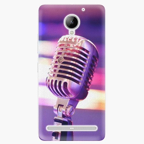 Plastový kryt iSaprio - Vintage Microphone - Lenovo C2
