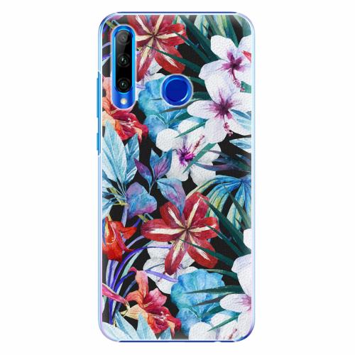 Plastový kryt iSaprio - Tropical Flowers 05 - Huawei Honor 20 Lite