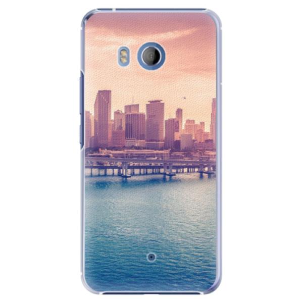 Plastové pouzdro iSaprio - Morning in a City - HTC U11