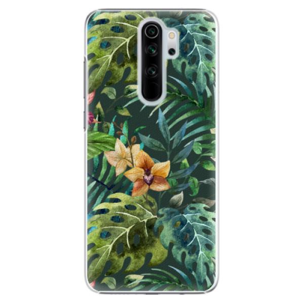 Plastové pouzdro iSaprio - Tropical Green 02 - Xiaomi Redmi Note 8 Pro