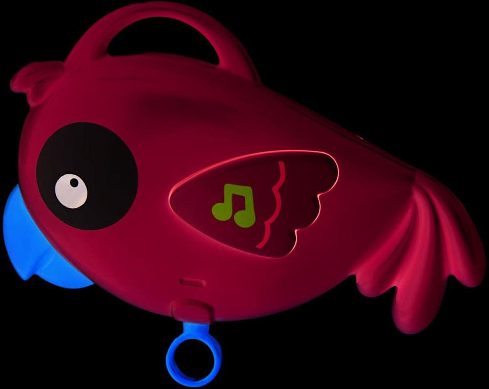 FISHER PRICE Baby zářící kolotoč se zvířátky 3v1 Rainforest na kočárek plast