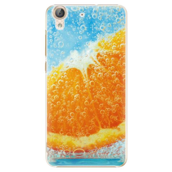 Plastové pouzdro iSaprio - Orange Water - Huawei Y6 II