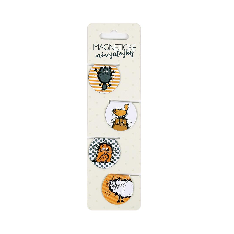 Magnetické minizáložky - Magn.minizáložky - Chlupaté kočky