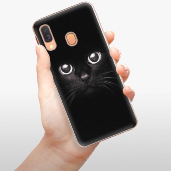 Plastové pouzdro iSaprio - Black Cat - Samsung Galaxy A40