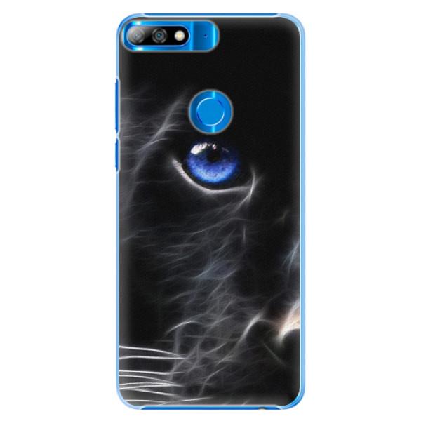 Plastové pouzdro iSaprio - Black Puma - Huawei Y7 Prime 2018
