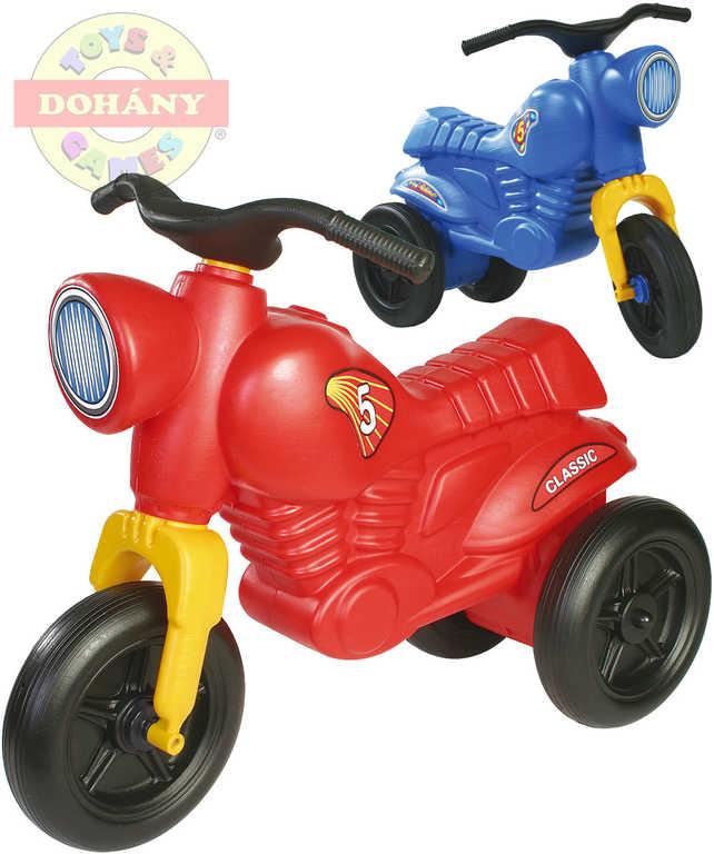 MAD Odrážedlo dětské odstrkovadlo CLASSIC 5 větší motocykl 2 barvy