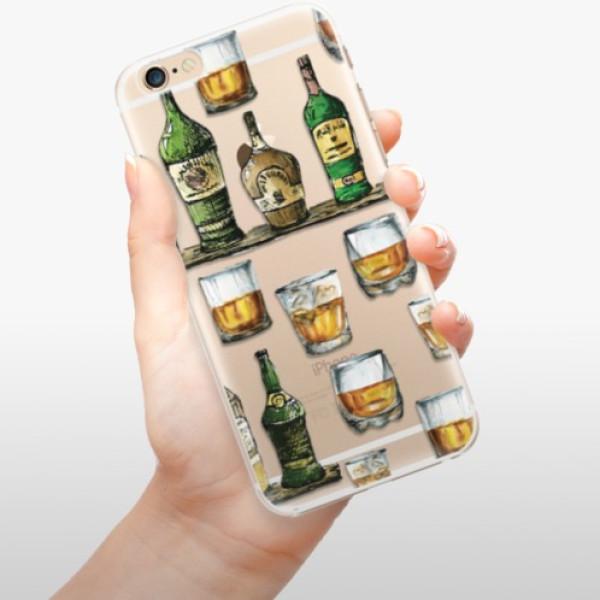 Plastové pouzdro iSaprio - Whisky pattern - iPhone 6/6S