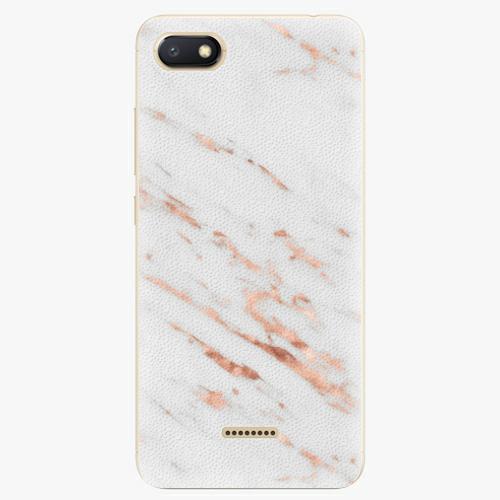 Plastový kryt iSaprio - Rose Gold Marble - Xiaomi Redmi 6A