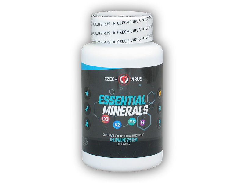 Essential Minerals 60 kapslí