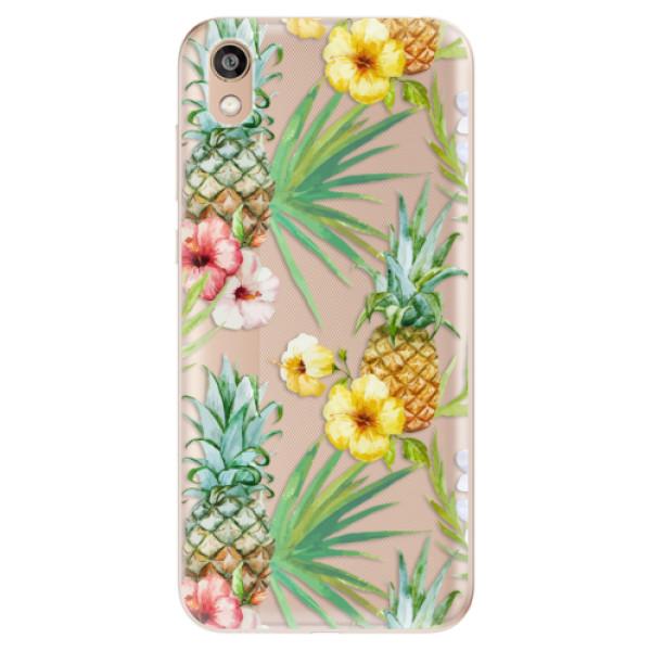 Odolné silikonové pouzdro iSaprio - Pineapple Pattern 02 - Huawei Honor 8S