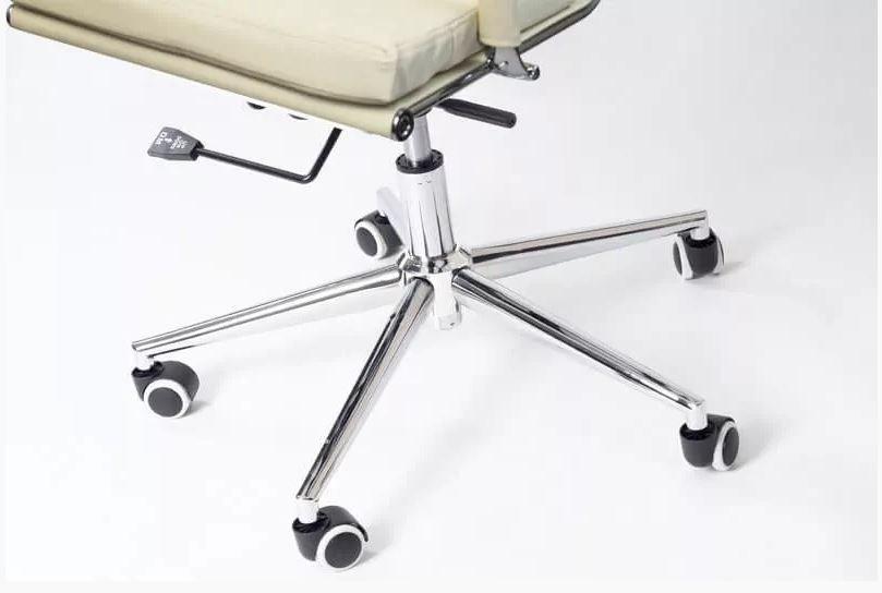 Kancelářská židle Missouri - krémová