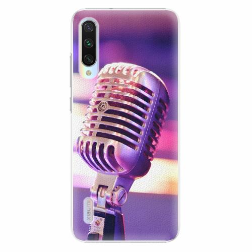 Plastový kryt iSaprio - Vintage Microphone - Xiaomi Mi A3