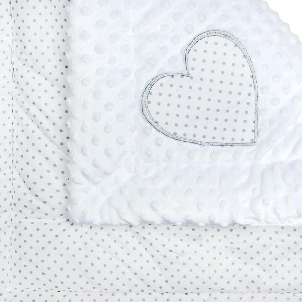 Luxusní Zavinovačka z Minky New Baby 73x73 cm - bílá