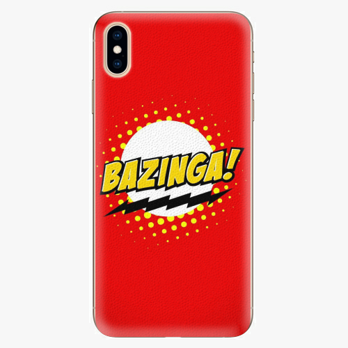 Plastový kryt iSaprio - Bazinga 01 - iPhone XS Max
