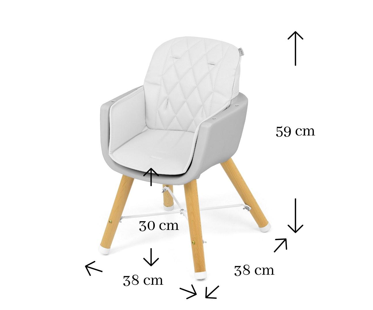 Jídelní židlička Milly Mally 2v1 Espoo