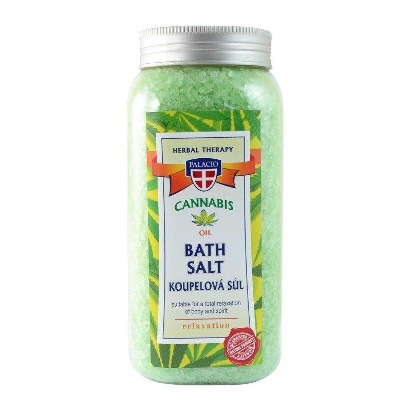 Konopná sůl do koupele 900g