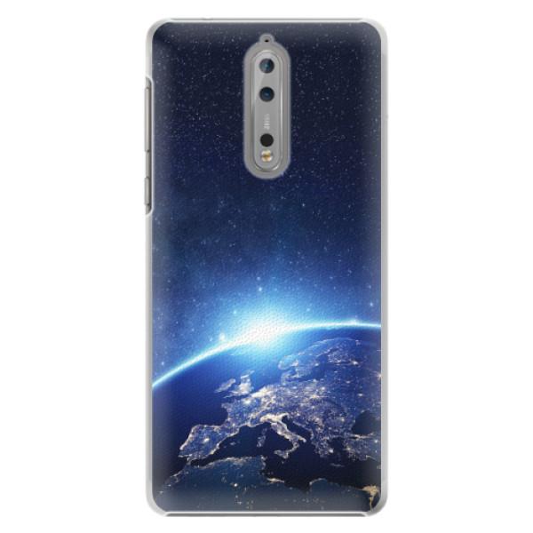 Plastové pouzdro iSaprio - Earth at Night - Nokia 8