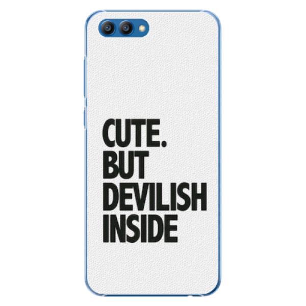 Plastové pouzdro iSaprio - Devilish inside - Huawei Honor View 10