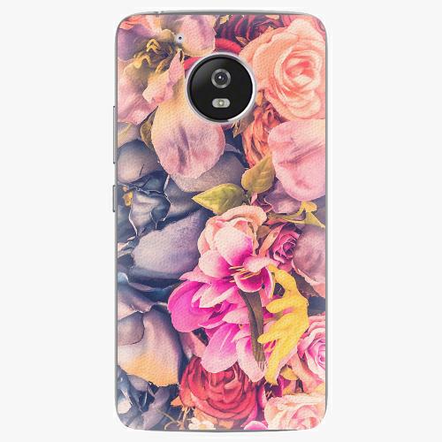 Plastový kryt iSaprio - Beauty Flowers - Lenovo Moto G5