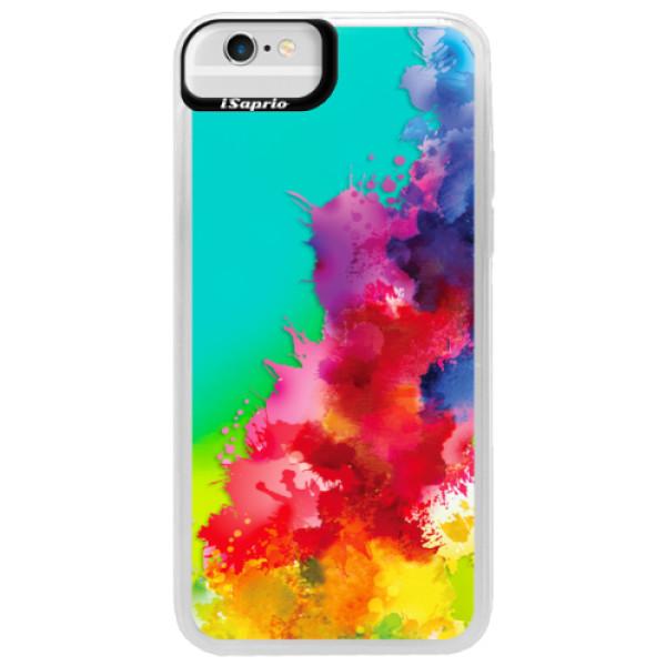 Neonové pouzdro Blue iSaprio - Color Splash 01 - iPhone 6/6S