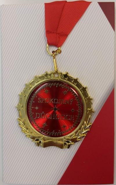 ALBI Přání s medailí - Důchodce