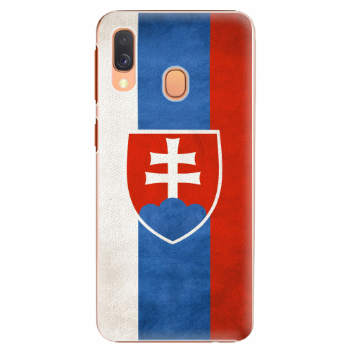 Plastový kryt iSaprio - Slovakia Flag - Samsung Galaxy A40