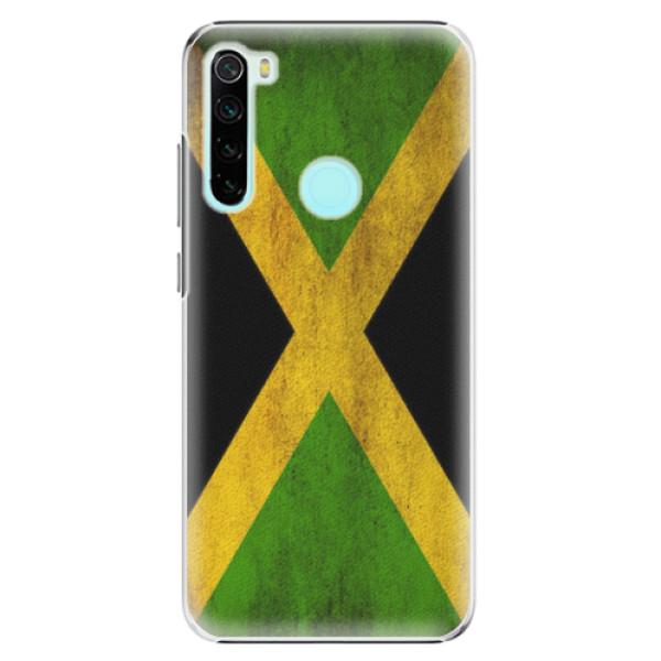 Plastové pouzdro iSaprio - Flag of Jamaica - Xiaomi Redmi Note 8