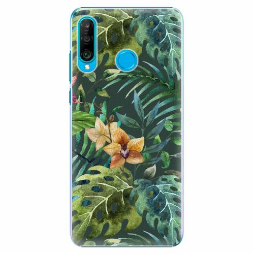 Plastový kryt iSaprio - Tropical Green 02 - Huawei P30 Lite