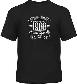 Humorná trička - Pánské humorné tričko - 1988, vel. L