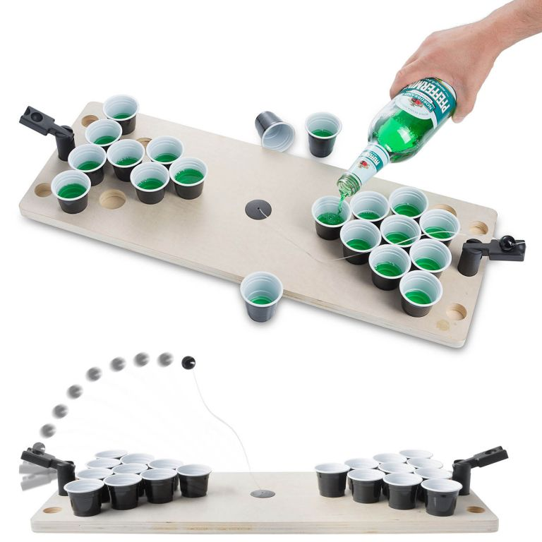 Stolní Beer Pong - párty společenská hra