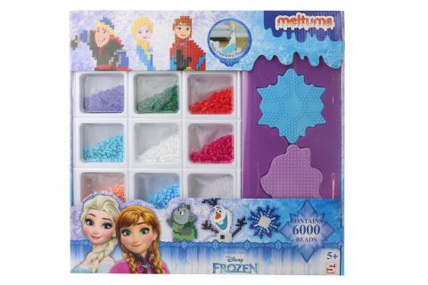 Frozen Nažehlovací korálky velké balení