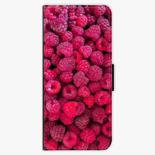 Flipové pouzdro iSaprio - Raspberry - Samsung Galaxy J3 2016